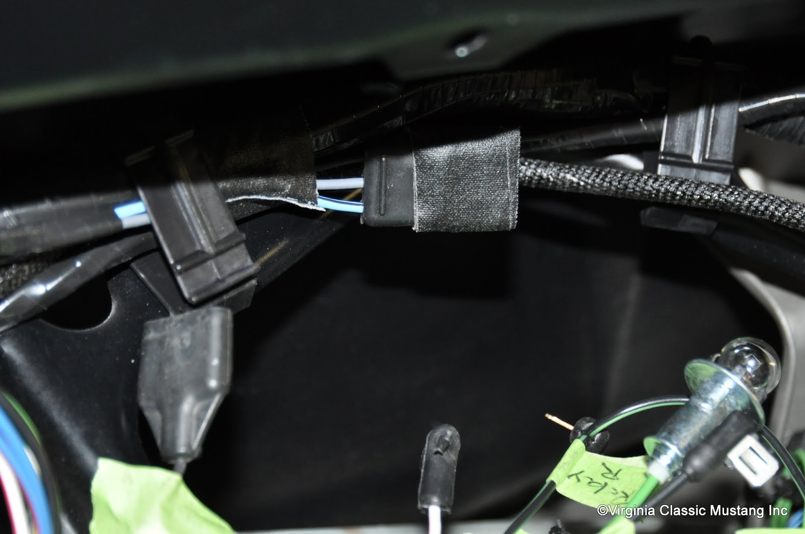 Dash Wiring Diagram Mustang Gt on