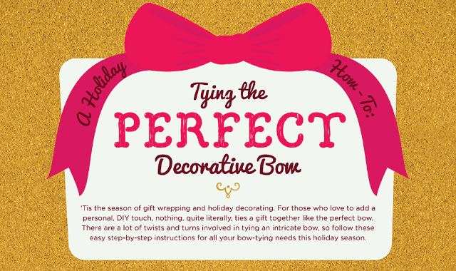 How To Tie the Perfect Holiday Bow