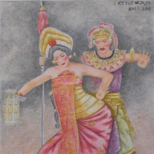 Tari Puspawresti Bali, Puspawresti Dance Bali