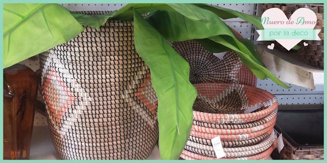 Canastos de fibras naturales de VERDECORA-BY ANA OVAL-1