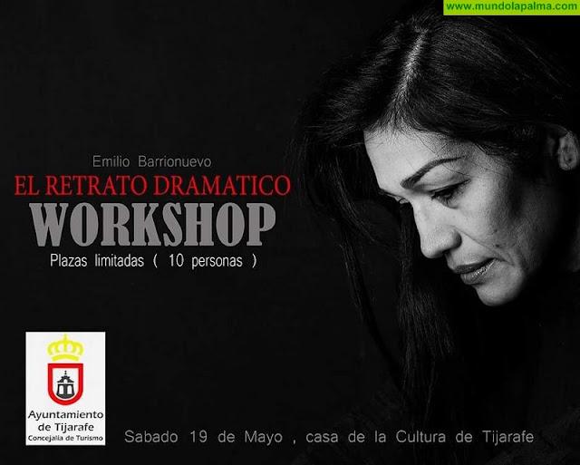 Tijarafe acoge el primer workshop impartido por el fotógrafo Emilio Barrionuevo en la Isla