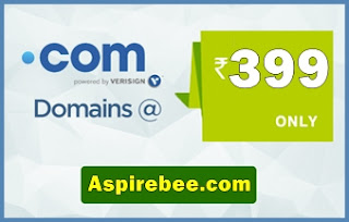 .com Domain Registration At Just Rs 399 Only