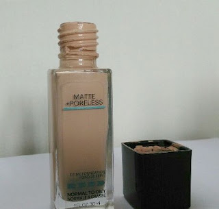 Maybelline Fit Me Matte Poreless Foundation Review India