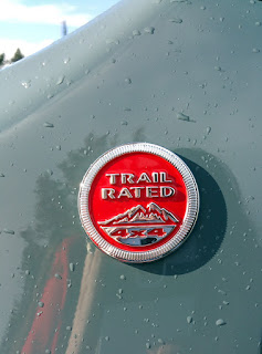 Jeep Renegade Trail Rated Badge