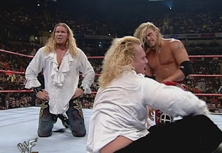 WWE / WWF - The Brood recover after a loss to The Corporate Ministry