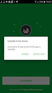 update aplikasi drvier anda