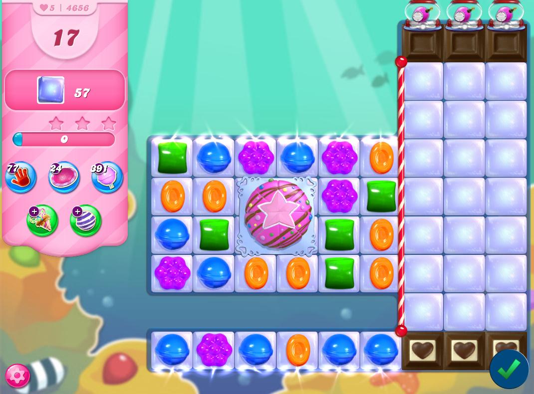 Candy Crush Saga level 4656