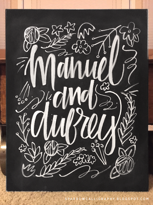 Manuel and Aubrey Chalk Design