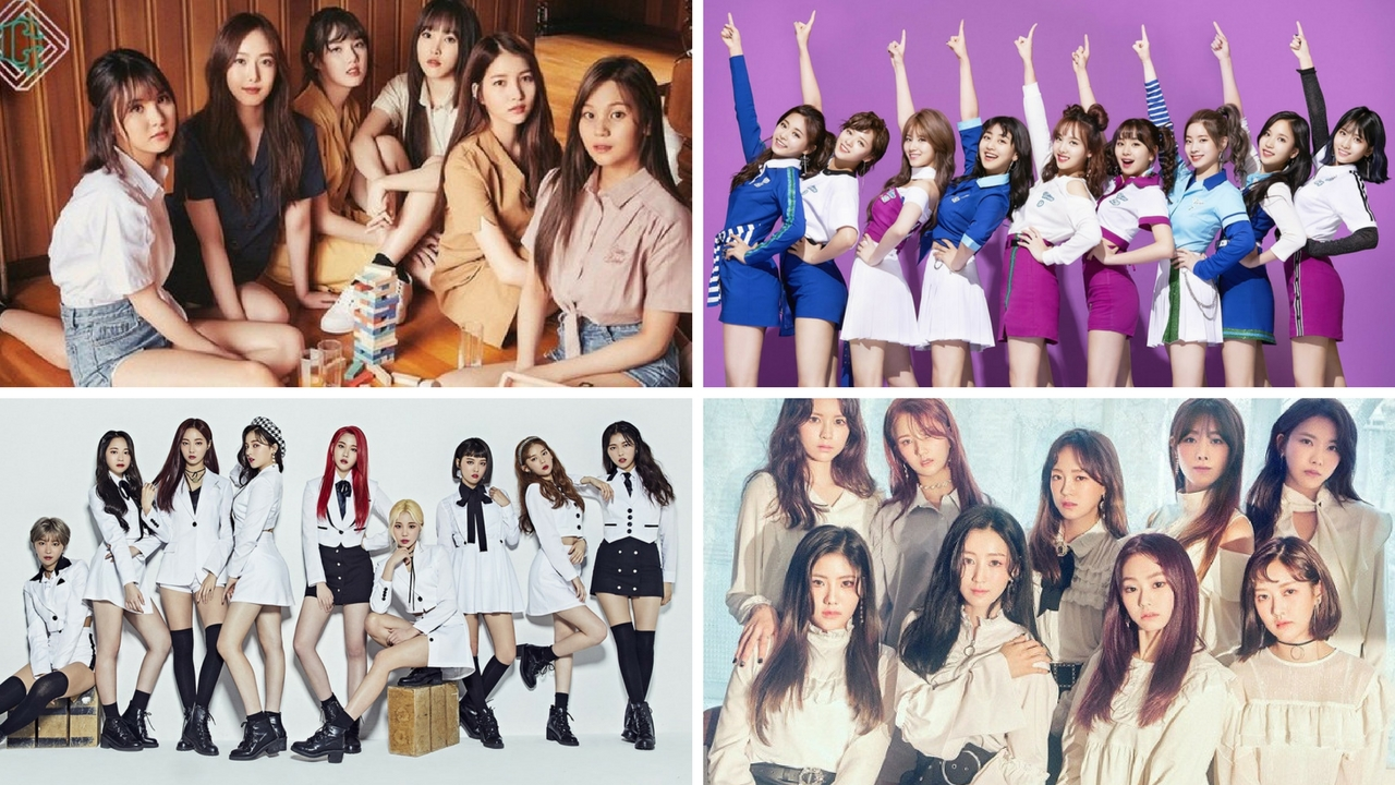 Kpop Group: Top 20 KPop Girl Groups In February 2018 !