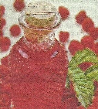 Состав продуктов и способ приготовления наливки из малины