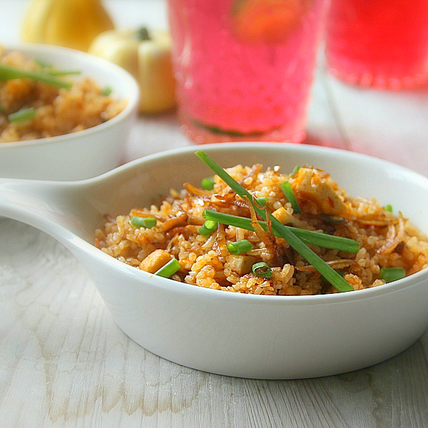 Singapore Shiok Nasi Goreng Ikan Bilis Merah Anchovy Fried Rice
