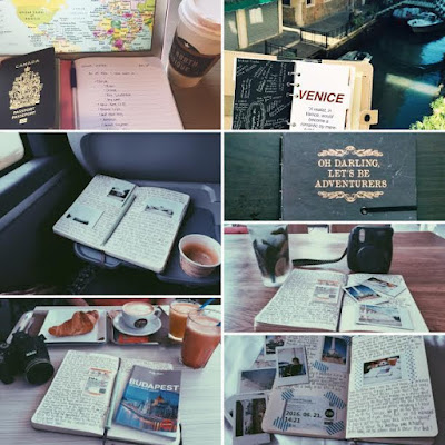 Travel Blogging vs Travel Journalling - Paint the Roses Red