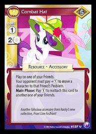 My Little Pony Combat Hat Canterlot Nights CCG Card