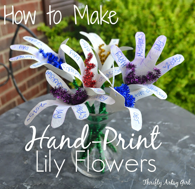 Painted Handprints Craft
