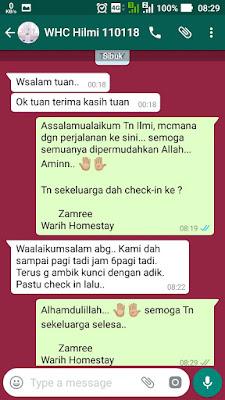 Warih-Homestay-Testimoni-Ilmi