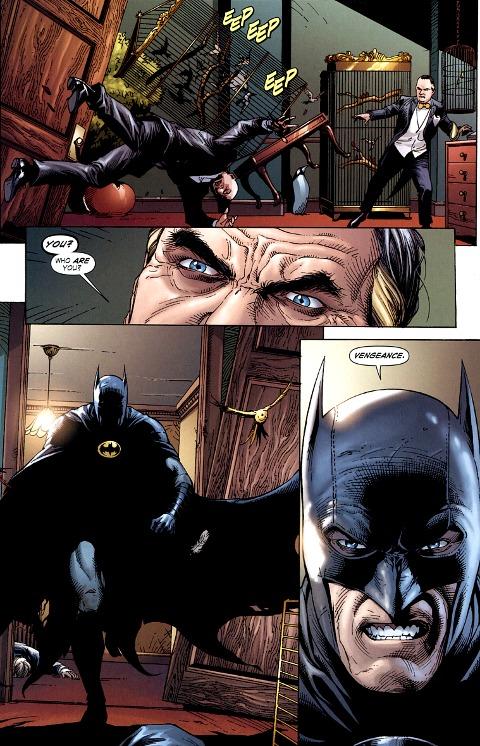batman's vengeance in batman earth one