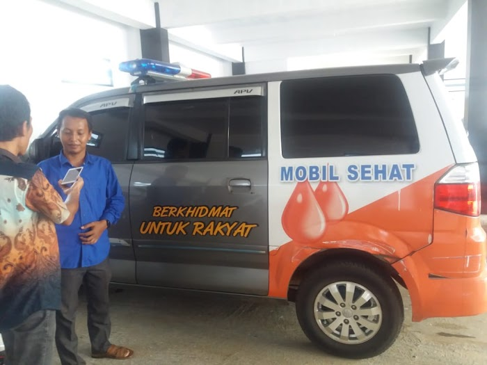 Berkhidmat Salah satu Tagline DPD PKS Lampura, melayani masyarakat yang membutuhkan Ambulance Gratis.