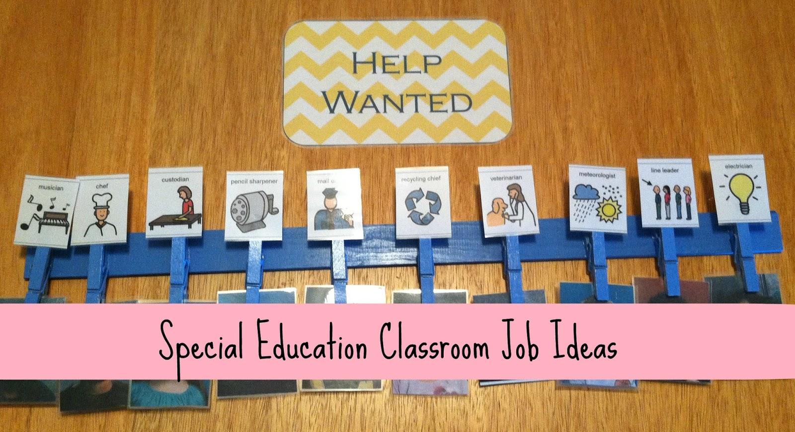 Little Miss Kim S Class Special Education Classroom Job