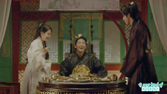 wang so, hae soo and Baek ah happy meal together - Moon Lovers Scarlet Heart Ryeo - Episode 17 (Eng Sub)