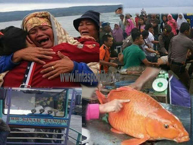 Danau Toba, Antara Legenda Ikan Mas dan Tenggelamnya KM Sinar Bangun