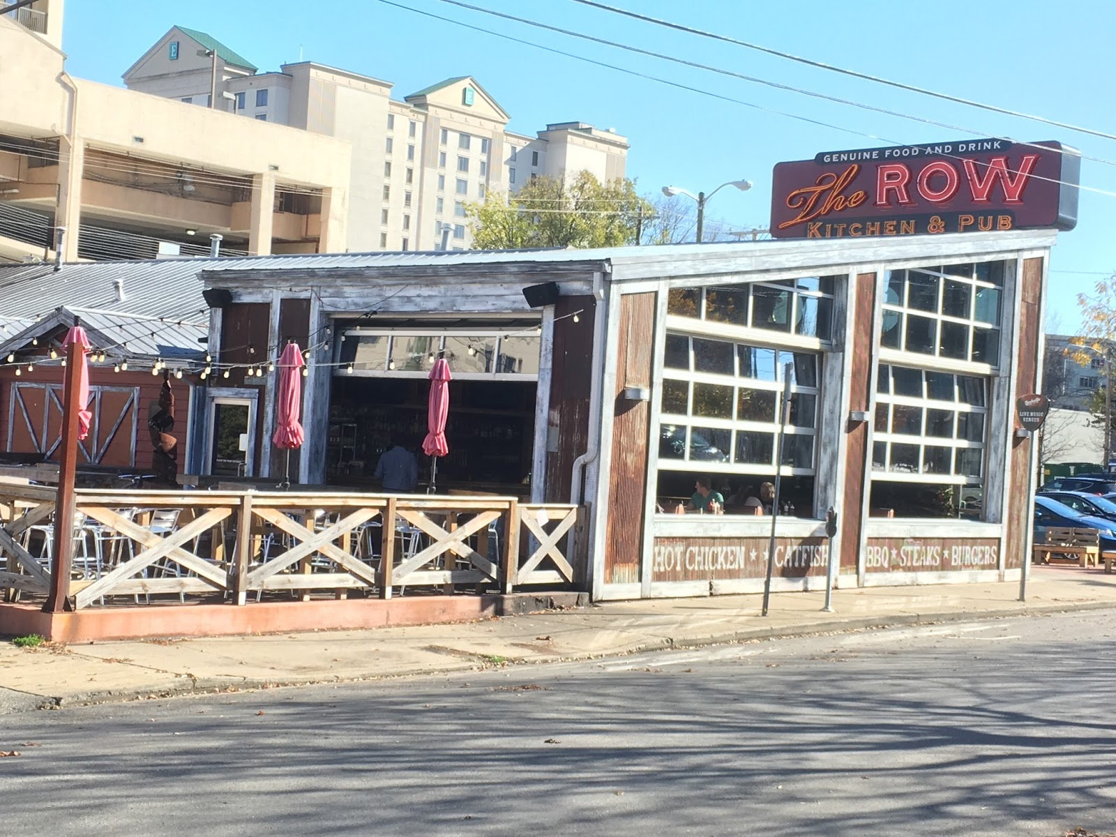 The Barbecue Fiend The Row Kitchen Pub Nashville Tn