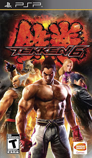 Gameplay-Tekken 6 PSP