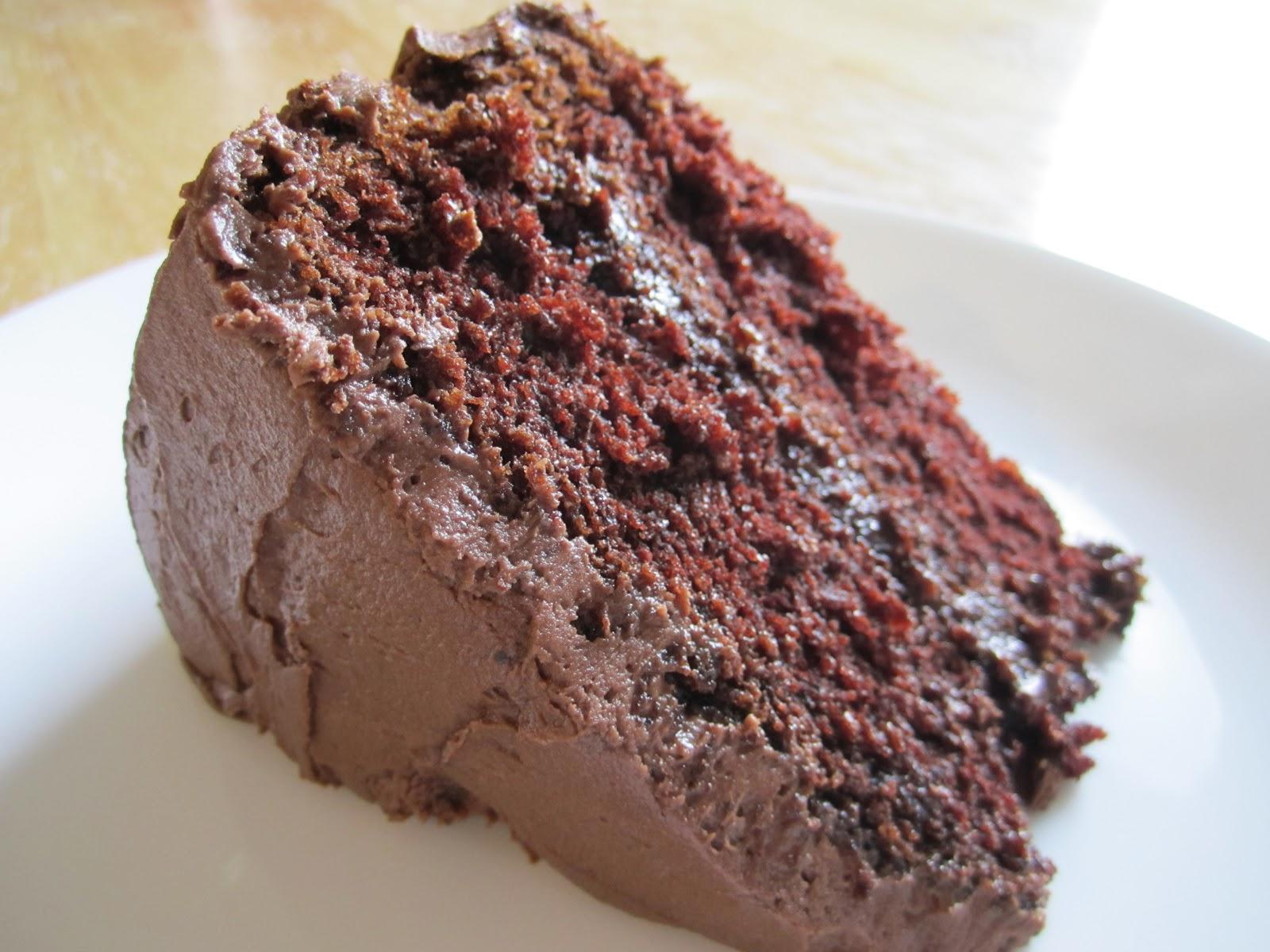 Wet Chocolate Cake Recipe