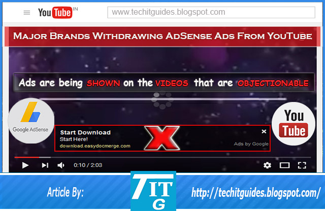 Major-Brands-Removing-Their-AdSense-Ads-From-YouTube