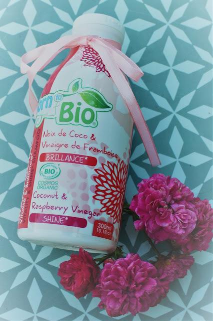 Born to Bio - Szampon wzmacniający z olejem kokosowym i octem malinowym