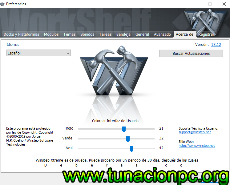 Winstep Xtreme para windows