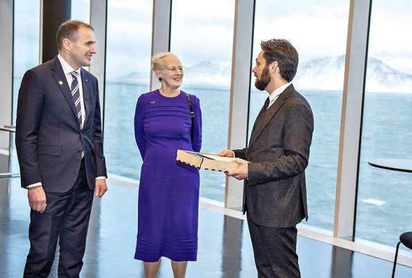 President Gudni Thorlacius Johannesson and First Lady Eliza Jean Reid. Iceland celebrates 100th anniversary of its independence