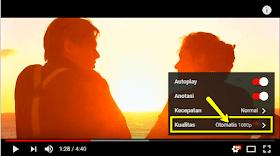 Cara agar Video Youtube lancar tanpa putus-putus tanpa buffering