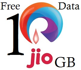How to get free 10GB data on jio number?