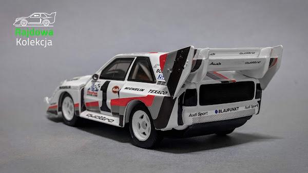 Minichamps Audi Sport Quattro S1 Pikes Peak, Winner Pikes Peak International Hill Climb 1987, 626 of 6 687
