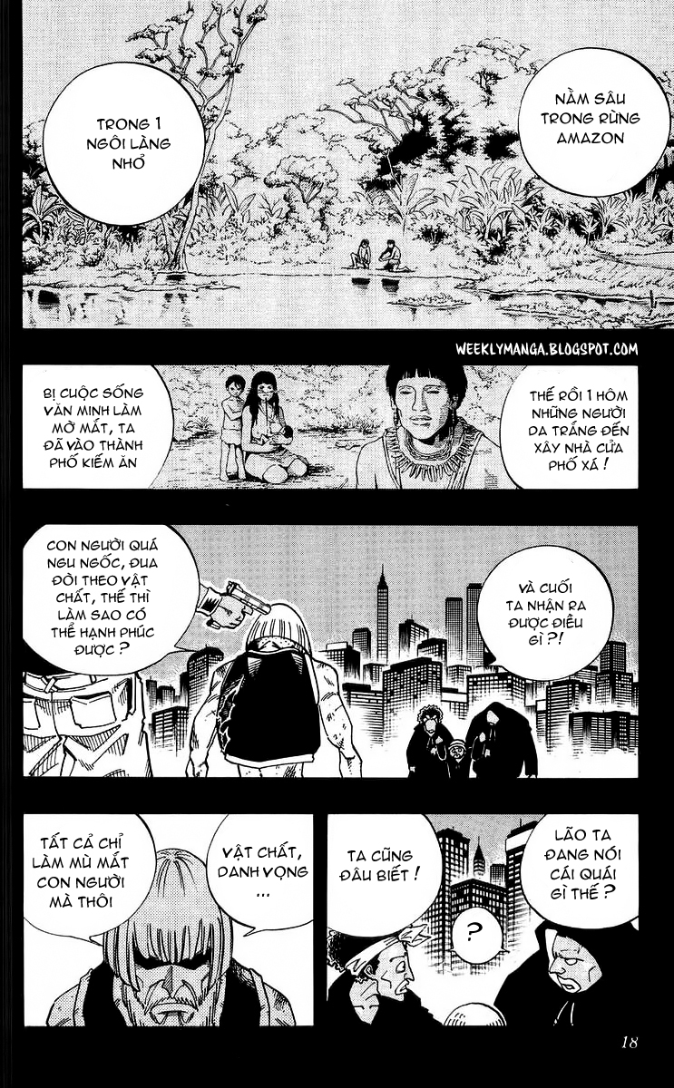 Shaman King [Vua pháp thuật] chap 117 trang 17