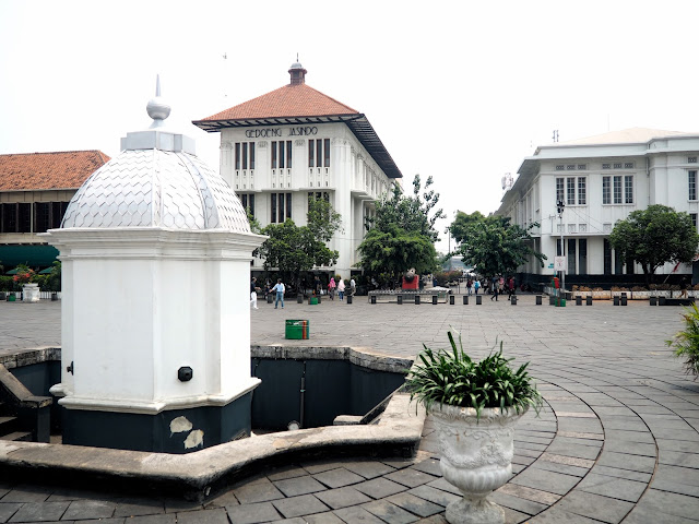 Fatahillah Square, Little Holland Amsterdam old town, Jakarta, Indonesia