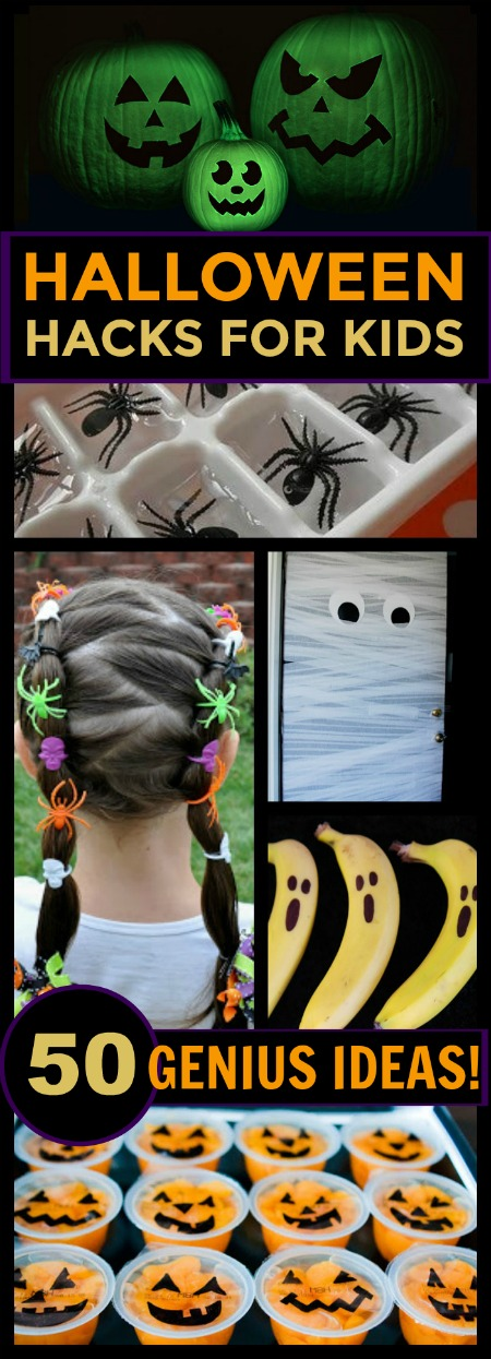 GENIUS HALLOWEEN HACKS FOR KIDS- wow!  These are so cool!