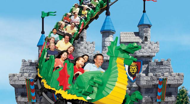 Atrações para crianças e adultos no Legoland Califórnia