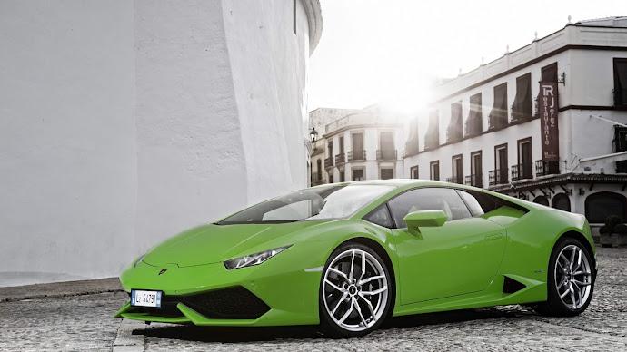 Wallpaper: Lamborghini Huracan LP610 4