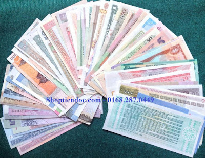 Bộ Tiền Thế Giới 100 Tờ 50 Nước