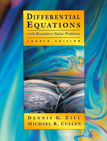 Dennis g zill Differential equations Pdf 3rd edition solution Manual