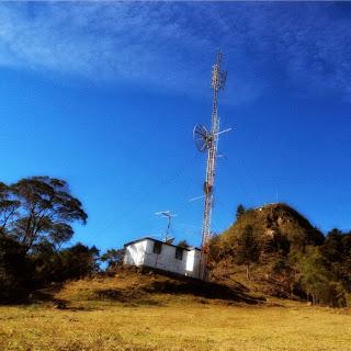 Antenas no Morro da Cruz, Bom Retiro