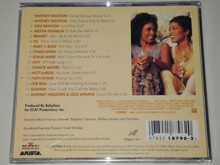 Cd Ost Waiting To Exhale - Gudang Musik Shop-2011