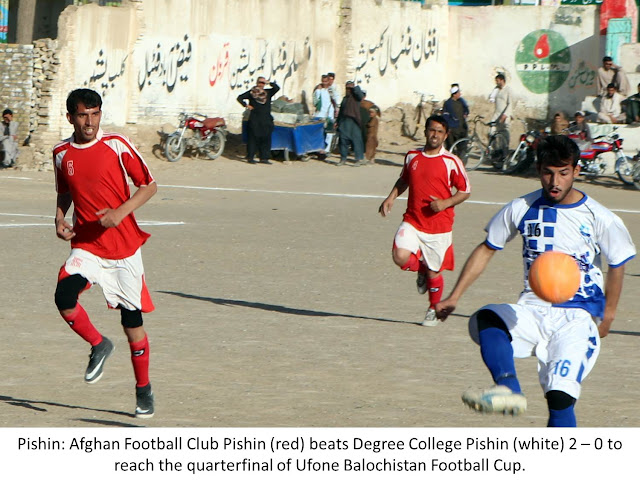 Ufone #Balochistan #Football Cup: Quetta all set to host the Quarterfinals from today