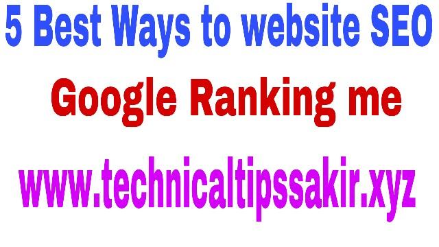 5 Best Ways to Encry Website Rankings - SEO Tips
