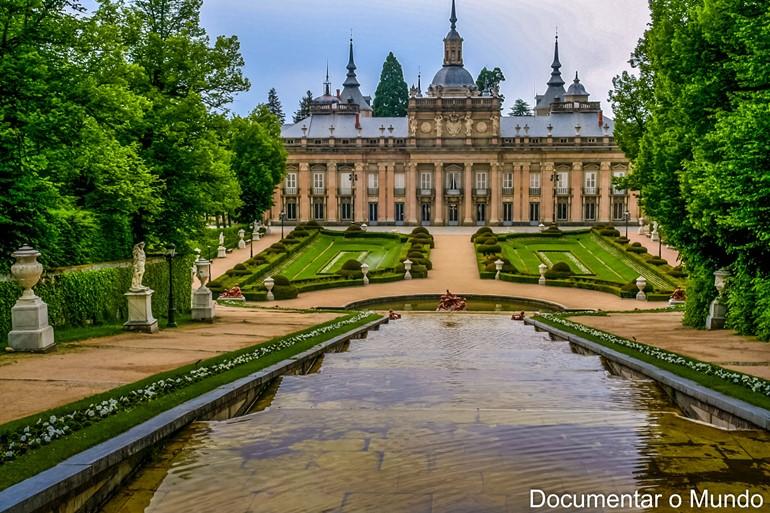 Palácio Real de La Granja de San Ildefonso; Palácios Reais de Espanha