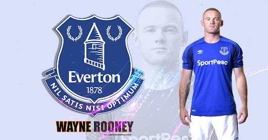 Wayne Rooney Everton Wallpaper 2017