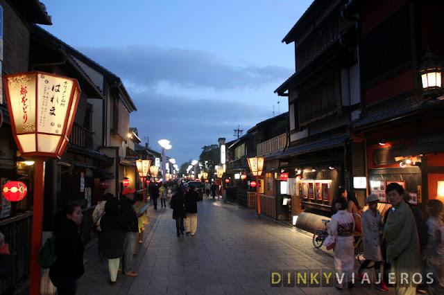 Hanamikoji-dōri en Gion