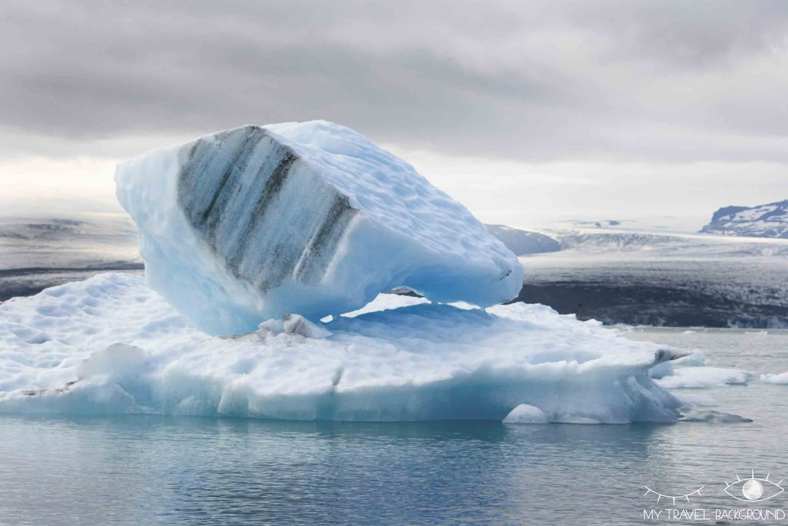 My Travel Background : Road Trip en Islande, itinéraire et infos pratiques / Glacier Jökulsarlon