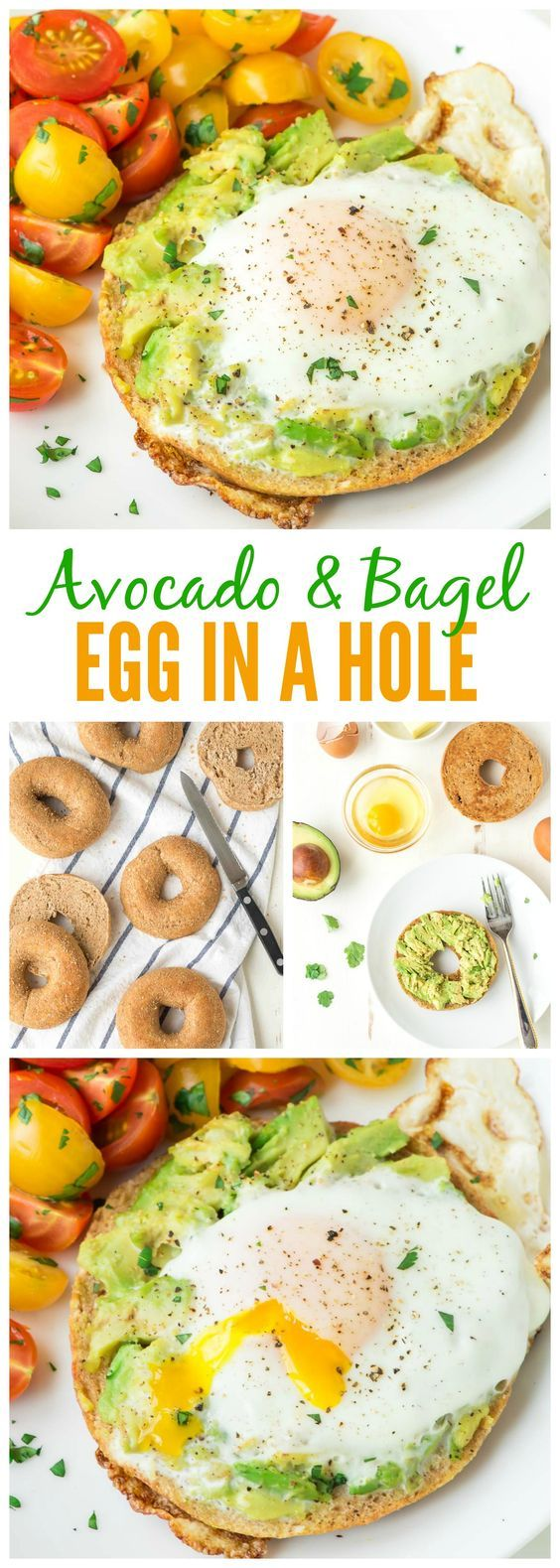 Bagel Egg in a Hole